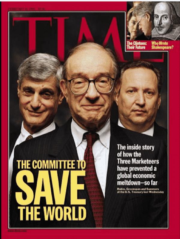 Обложка журнала Тайм