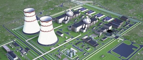 типовой проект АЭС с двумя блоками ВВЭР-1200