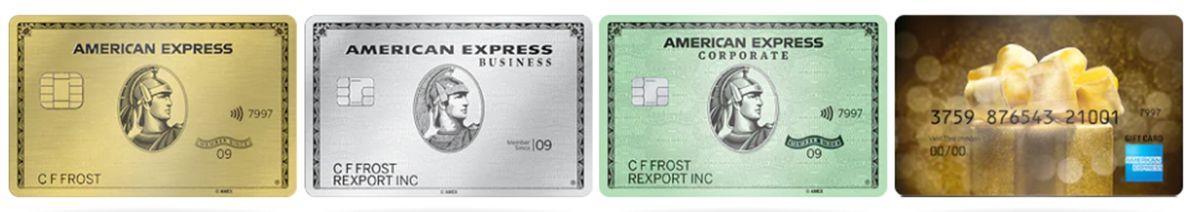 Кредитные карты American Express
