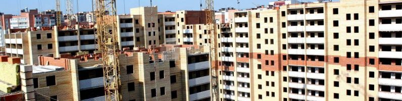 Жилищное строительство в России набирает темп