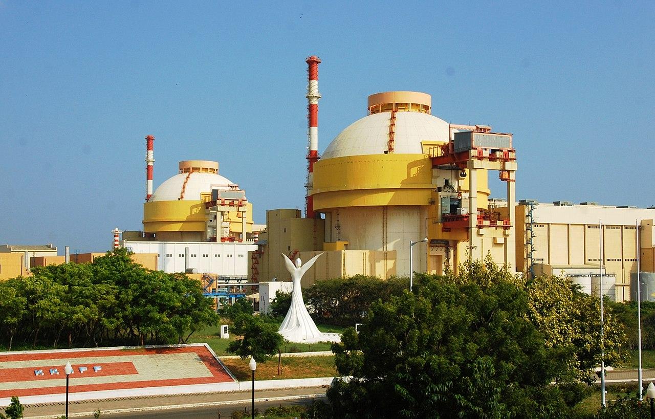 Фото блоков №1,2 АЭС «Куданкулам»