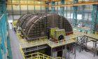 Русская тихоходная турбина мощностью 1255 МВт