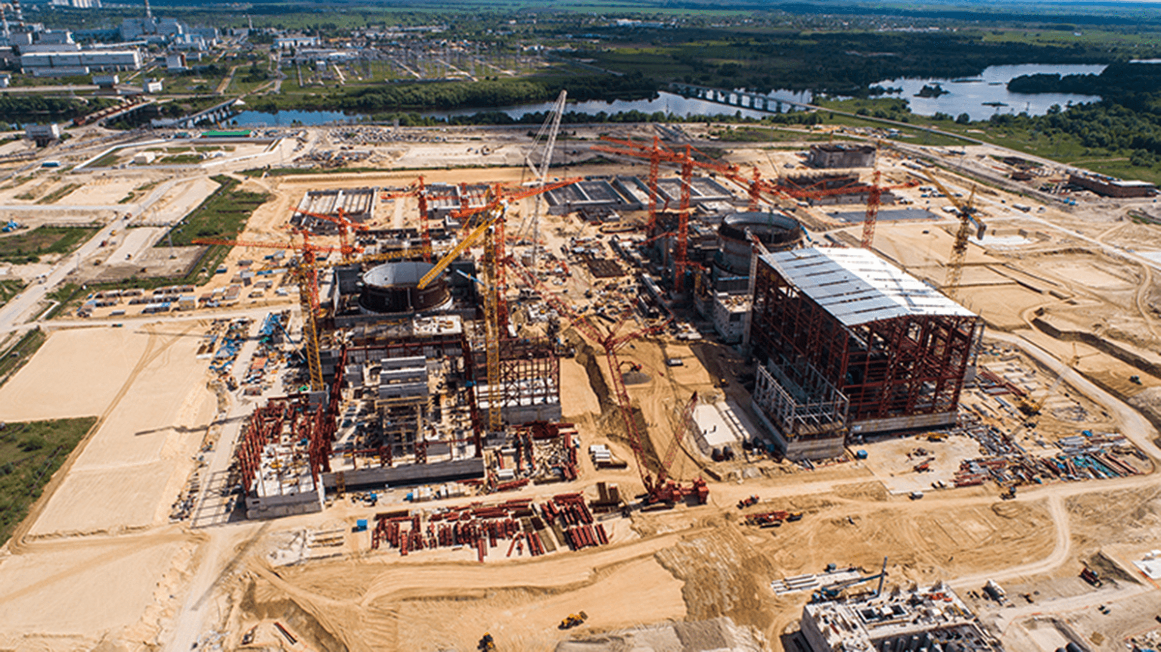 Стройплощадка КуАЭС-2, фото от 22.05.2021