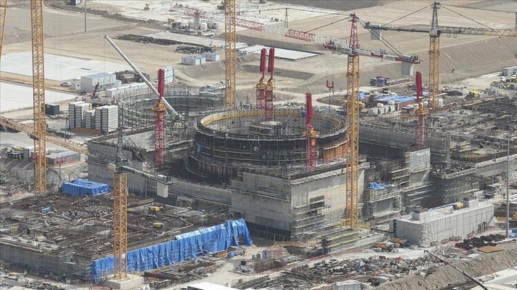 фото от 1 июля стройплощадки АЭС «Аккую»