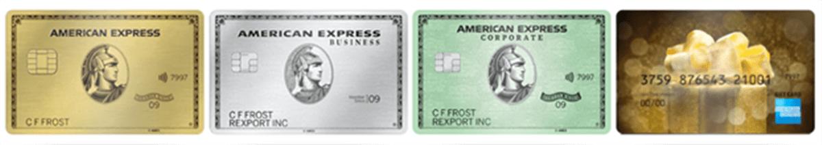 Карты American Express