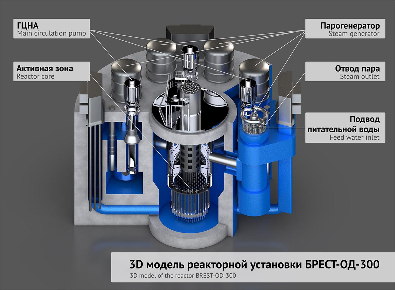 реактор БРЕСТ-ОД-300