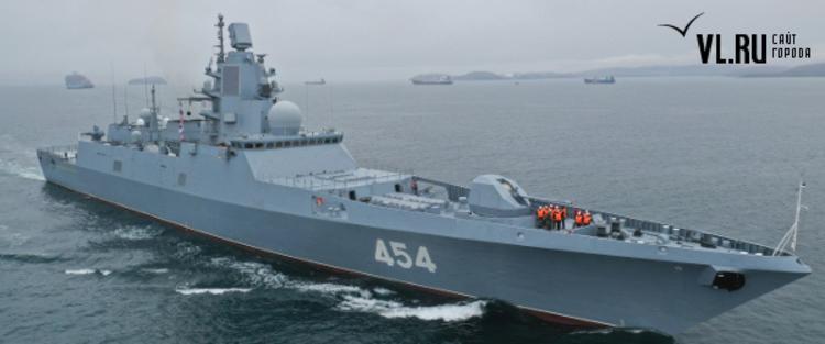 Фрегат типа «Адмирал Горшков»