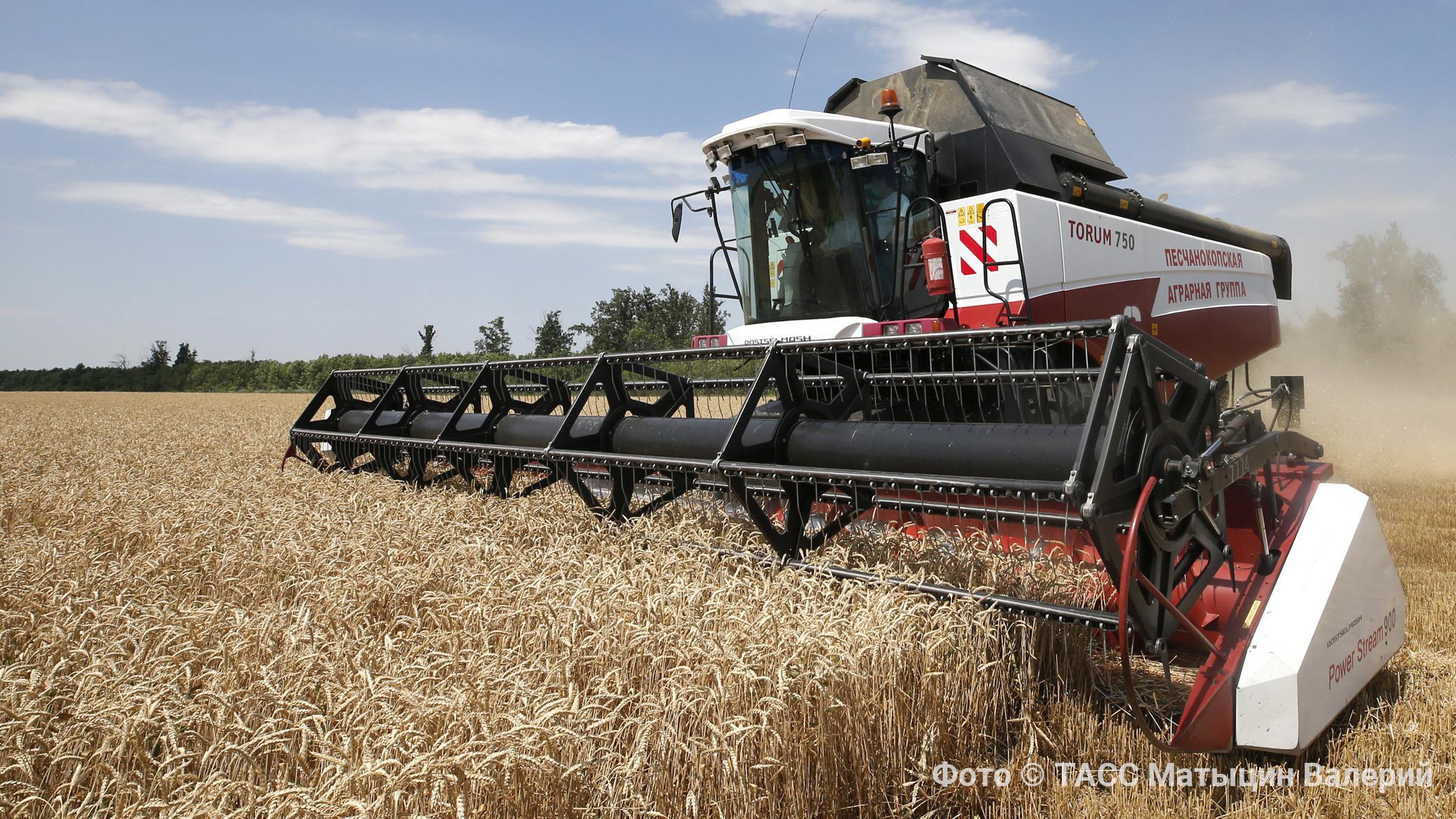 Комбайны, собирающие зерно и зернобобовые без комбайнера